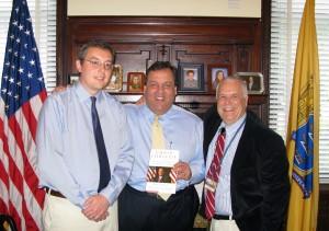 Mike Symons, Chris Christie, Bob Ingle new book 2